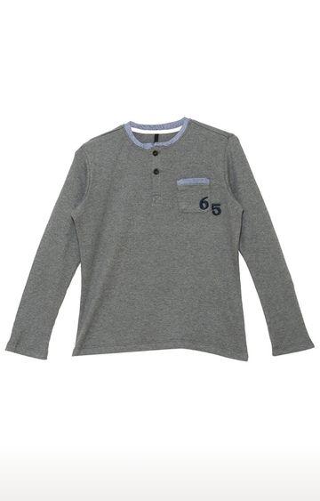 United Colors of Benetton   Grey Melange T-shirt