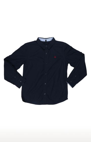 United Colors of Benetton | Navy Solid Shirt