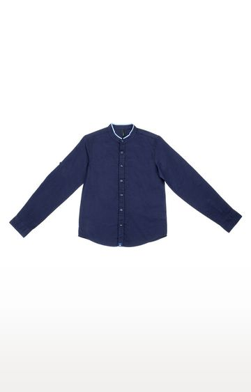 United Colors of Benetton | Navy Printed Shirt
