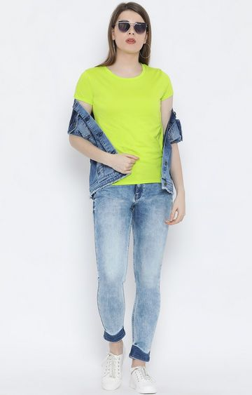 United Colors of Benetton | Blue Printed T-Shirt