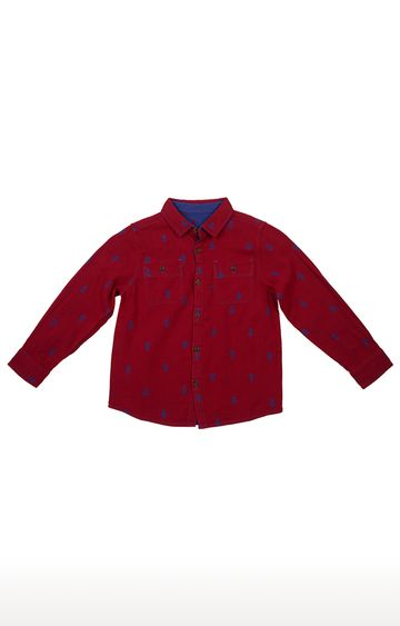 United Colors of Benetton | Red Printed Shirt
