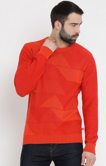 United Colors of Benetton | Red Solid Sweater