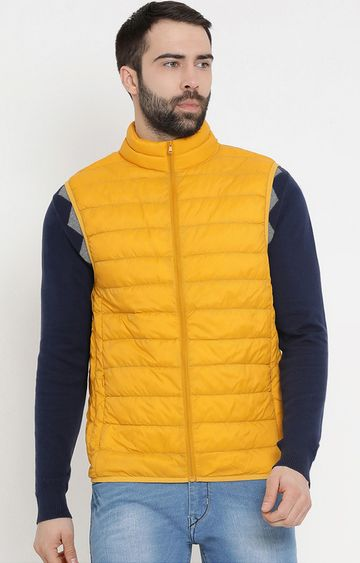 United Colors of Benetton | Yellow Solid Gilet