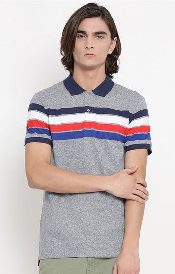 United Colors of Benetton | Multicoloured Striped Polo T-Shirt