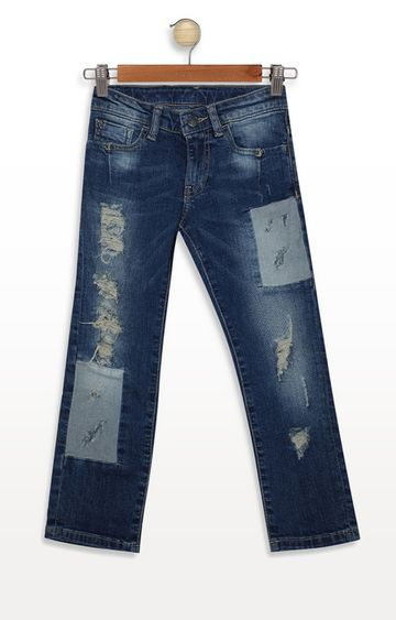 United Colors of Benetton | Blue Solid Jeans