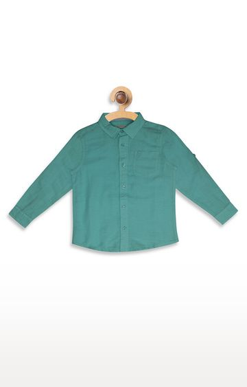 United Colors of Benetton | Blue Solid Shirt