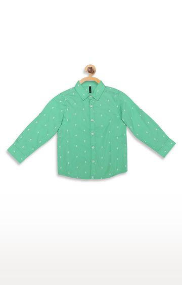 United Colors of Benetton | White Printed Shirt
