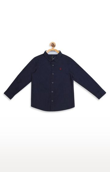United Colors of Benetton   Black Solid Shirt