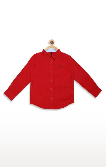 United Colors of Benetton | Red Solid Shirt