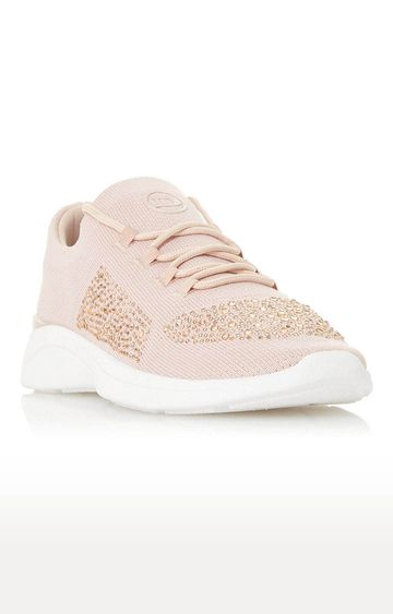 Dune London | Pink Elsa Casual Lace-ups