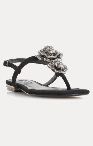 Dune London | Black Sandals Mulligan
