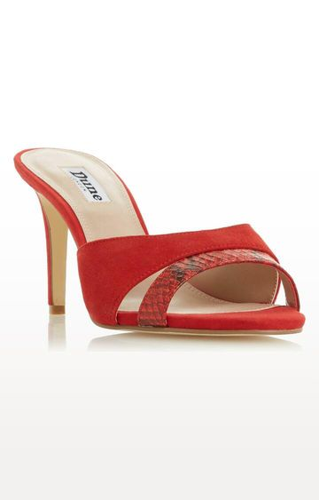 Dune London | Red Madame DI Stilettos