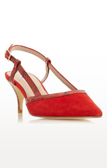 Dune London | Red Corraly DI Stilettos