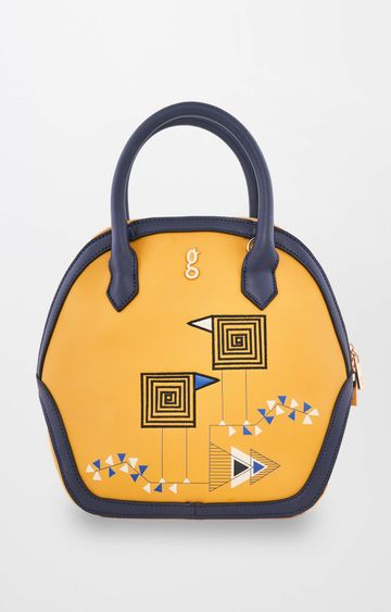 Global Desi | Ochre Handbag