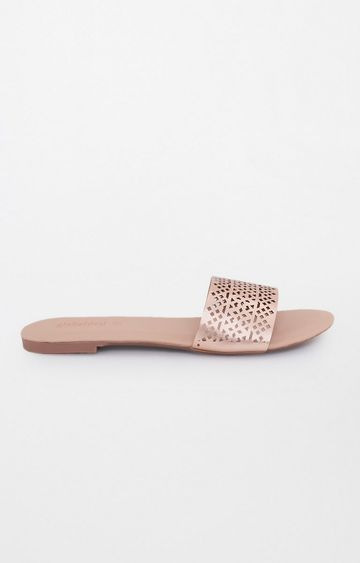 Global Desi | Rose Pink Slip-ons
