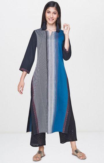 Global Desi | Multicoloured Printed Kurta
