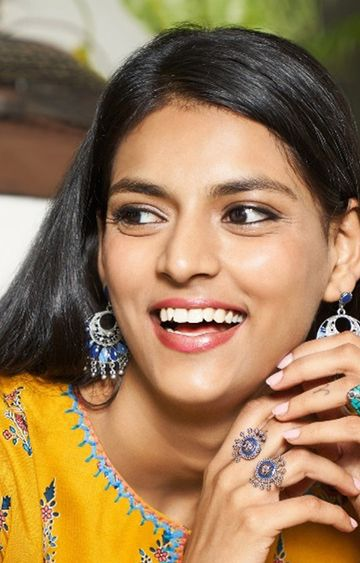 Global Desi | Multicoloured Ring