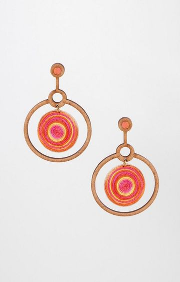 Global Desi | Multicoloured Dangle and Drop Earrings