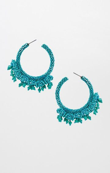 Global Desi | Green Hoops