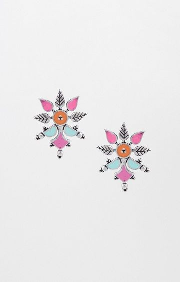 Global Desi | Peach Studs
