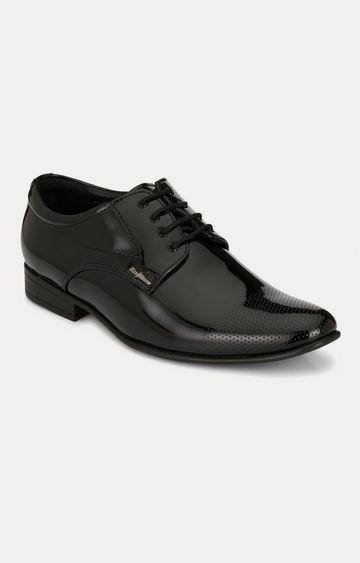 San Frissco | Black Derby Shoes
