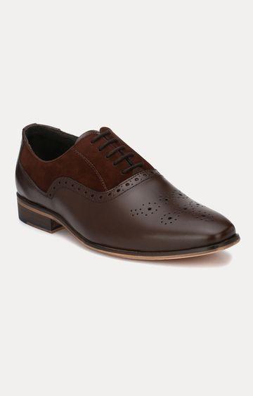 San Frissco | Brown Brogue Shoes