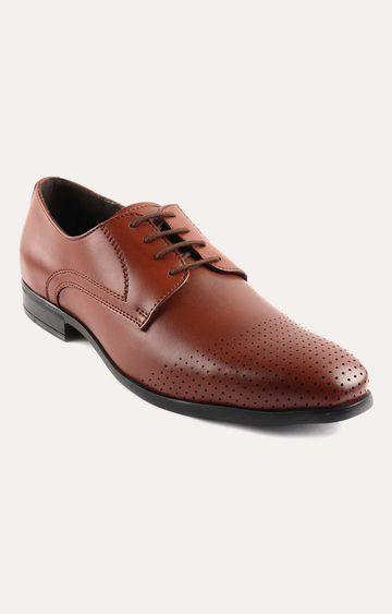 San Frissco   Tan Derby Shoes