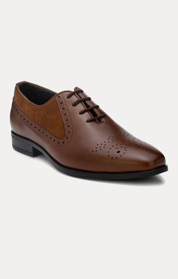 San Frissco | Tan Oxford Shoes