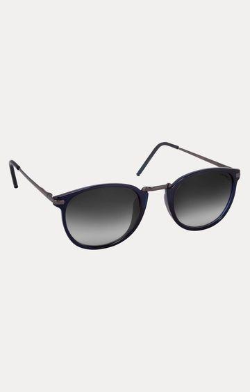 Laurels | Blue Oval Sunglasses