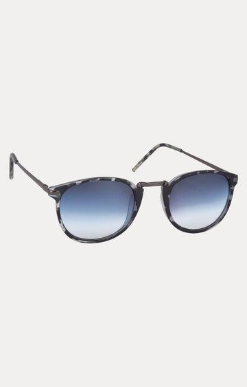 Laurels | Grey Oval Sunglasses