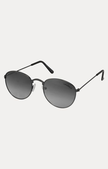 Laurels | Black Oval Sunglasses