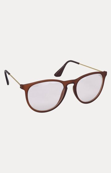Laurels | Brown Oval Sunglasses