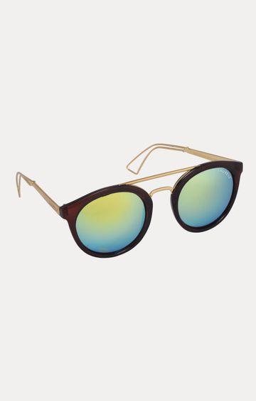 Laurels   Golden Round Sunglasses