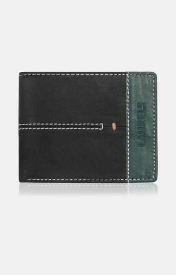 Laurels | Green and Black Wallet