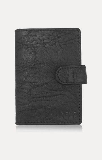 Laurels | Black Card Case
