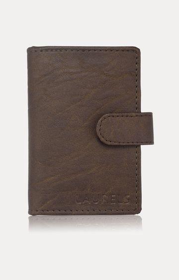Laurels | Brown Card Case