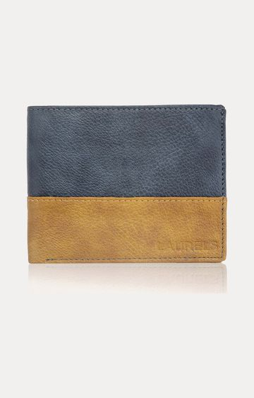 Laurels | Blue and Beige Wallet