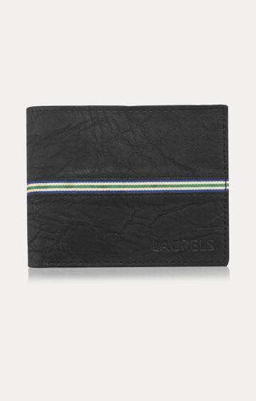 Laurels | Black Wallet
