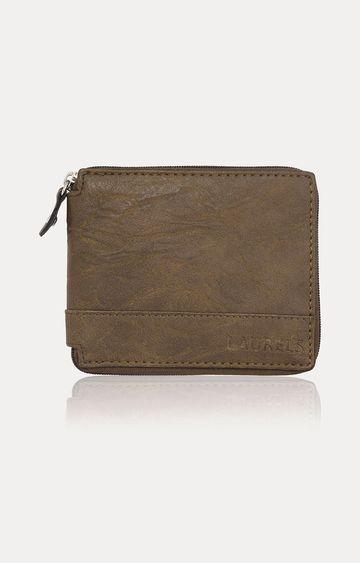 Laurels | Taupe Wallet