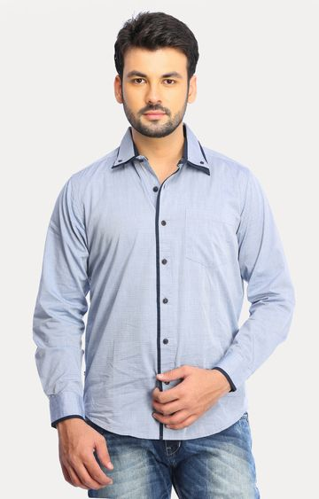 RED CHIEF | Light Blue Solid Casual Shirt