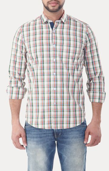 RED CHIEF | Multicolour Checked Casual Shirt