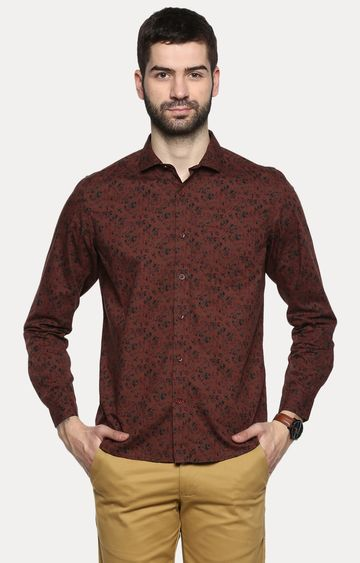 RED CHIEF | Brown Camouflage Casual Shirt