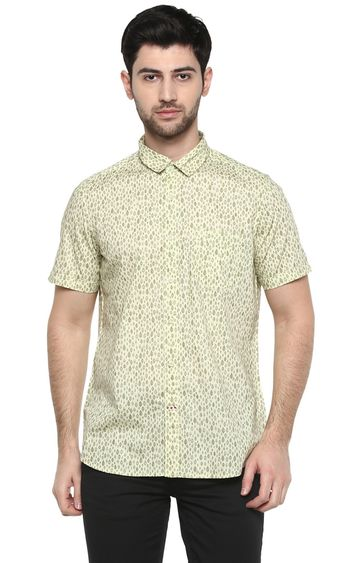 RED CHIEF | Olive Printed Casual Shirt