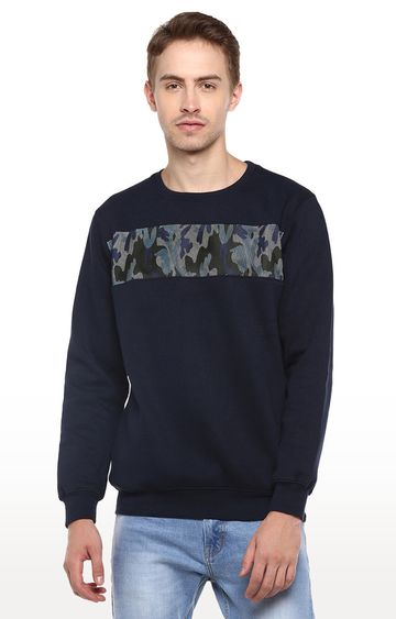 RED CHIEF | Blue Camouflage Sweatshirt