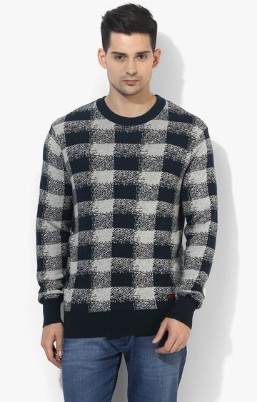 RED CHIEF | Green Checked Sweater