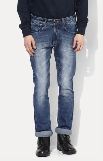 RED CHIEF | Blue Washed Straight Jeans