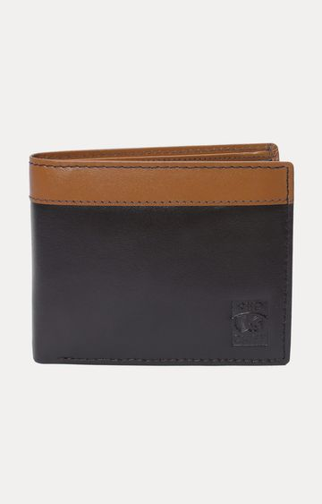 RED CHIEF   Brown and Black Wallet