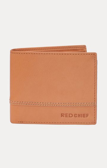 RED CHIEF   Tan Wallet