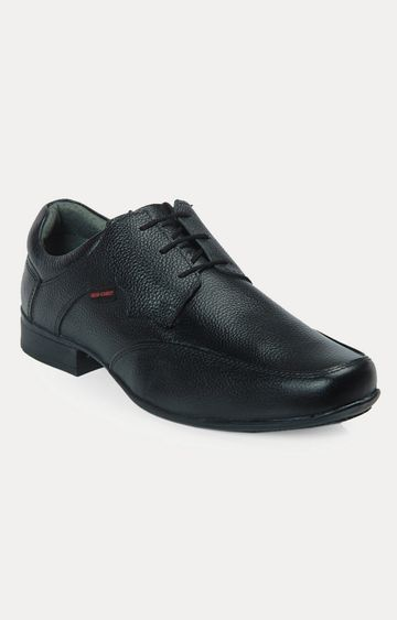 RED CHIEF   Black Derby Shoes