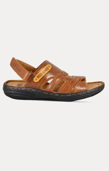 RED CHIEF | RC1083 287 - Tan Sandals